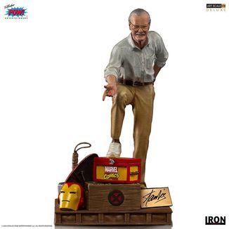 Stan Lee Deluxe Art Statue Marvel Comics Art Scale