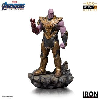 Estatua Thanos Black Order Deluxe Vengadores Endgame BDS Art Scale