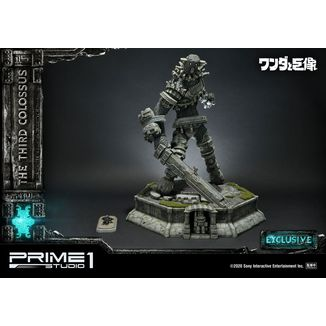 Estatua The Third Colossus Exclusive Shadow of the Colossus