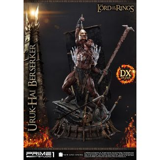 Uruk Hai Berserker Deluxe Statue Lord of the Rings