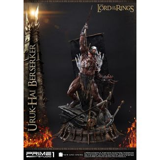 Uruk Hai Berserker Statue Lord of the Rings