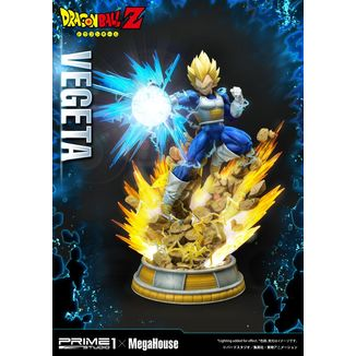 Estatua Vegeta SSJ Dragon Ball Z Mega Premium Masterline