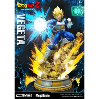 Estatua Vegeta SSJ DX Version Dragon Ball Z Mega Premium Masterline