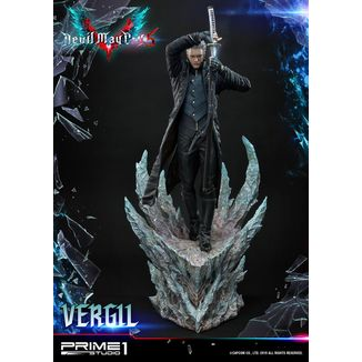 Estatua Vergil Devil May Cry 5
