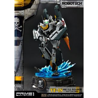 Estatua VF-1S Skull Leader Battloid Mode Robotech