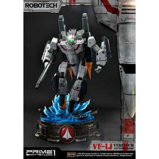 VF 1J Officers Veritech Battloid Mode Statue Robotech