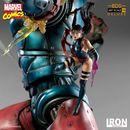 Estatua X Men VS Sentinel #3 Marvel Comics BDS Art Scale