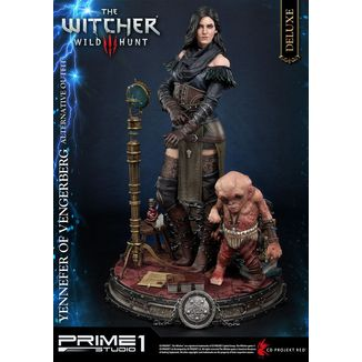 Estatua Yennefer of Vengerberg Alternative Outfit Deluxe Version Witcher 3 Wild Hunt