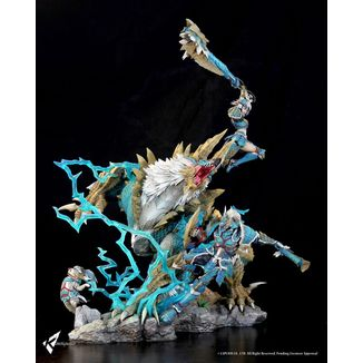 Estatua Zinogre The Electrifying Bundle Monster Hunter Set