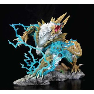 Estatua Zinogre The Thunder Wolf Wyvern Monster Hunter