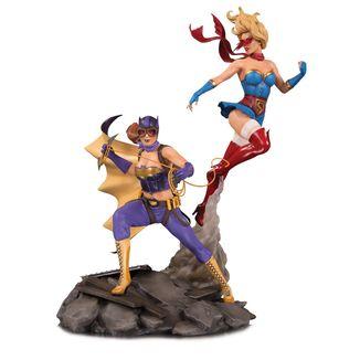 Batgirl & Supergirl Celebration DC Bombshells Statue DC Comics
