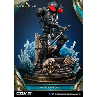 Estatua Black Manta Aquaman