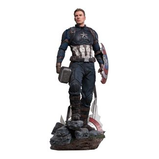 Estatua Captain America Deluxe Version Vengadores Endgame Legacy