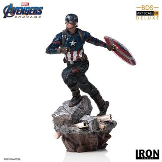Captain America Statue Avengers Endgame Deluxe BDS Art Scale