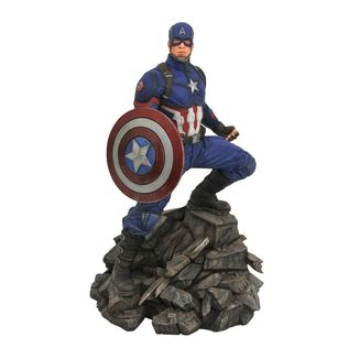 Estatua Captain America Vengadores Endgame Marvel Movie Premier Collection