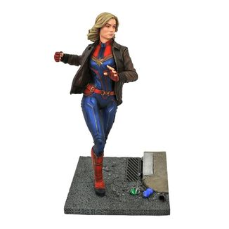 Estatua Captain Marvel Vengadores Endgame Marvel Movie Premier Collection