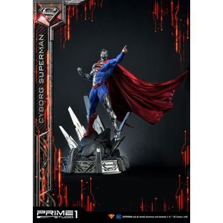 Cyborg Superman Statue DC Comics