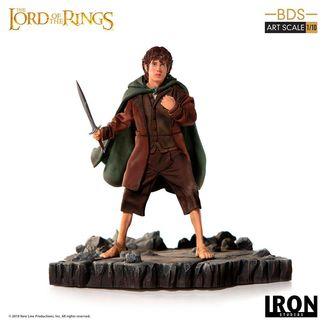 Estatua Frodo El Señor de los Anillos BDS Art Scale