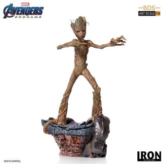 Estatua Groot Vengadores Endgame BDS Art Scale