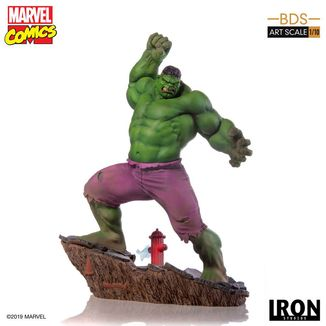 Estatua Hulk Marvel Comics BDS Art Scale
