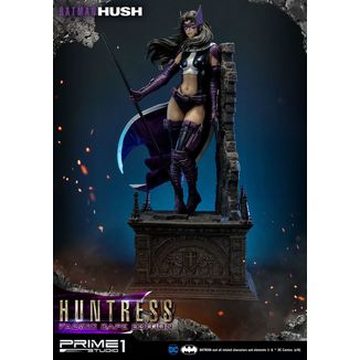 Estatua Huntress Fabric Cape Edition Batman Hush