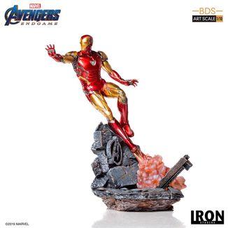 Estatua Iron Man Mark LXXXV Vengadores Endgame BDS Art Scale