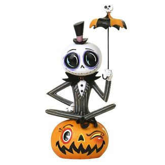 Jack Skellington Nightmare before Christmas Statue The World of Miss Mindy Presents Disney