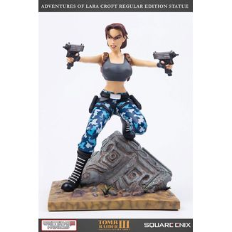 Lara Croft Regular Version Statue Tomb Raider III