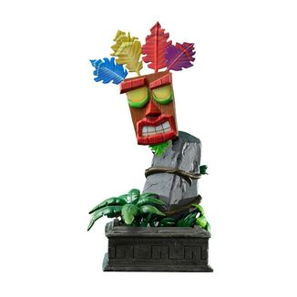 Estatua Mini Aku Aku Mask Crash Bandicoot