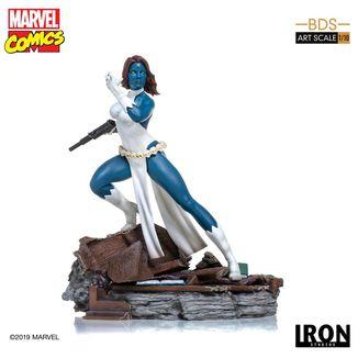Estatua Mystique Marvel Comics BDS Art Scale
