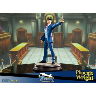 Estatua Phoenix Wright Ace Attorney Dual Destinies