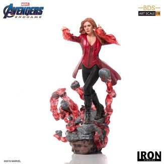 Estatua Scarlet Witch Vengadores Endgame BDS Art Scale