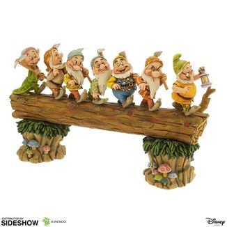 Estatua Seven Dwarfs Masterpiece Blancanieves Disney Showcase Collection