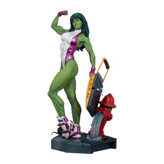 Estatua She-Hulk Marvel Comics Adi Granov Artist Series