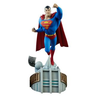 Superman Statue DC Animated Series Collection