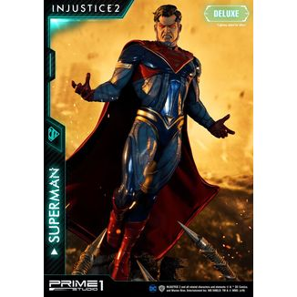 Estatua Superman Deluxe Version Injustice 2