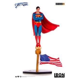 Estatua Superman The Movie 1978 Dc Comics Deluxe Art Scale