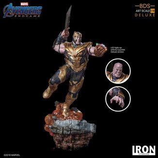 Estatua Thanos Deluxe Version Vengadores Endgame BDS Art Scale