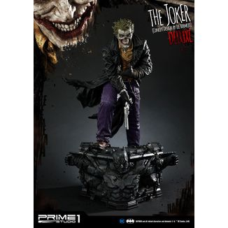 Estatua The Joker by Lee Bermejo Deluxe Version DC Comics