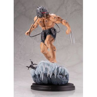 Estatua Weapon X Marvel Comics Fine Art