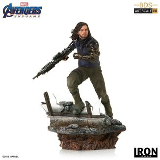Winter Soldier Statue Avengers Endgame BDS Art Scale