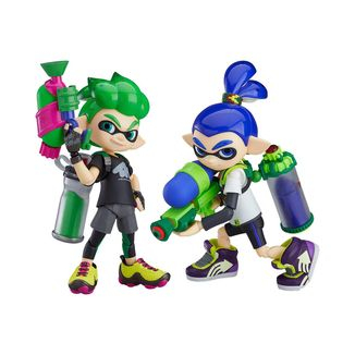 Figma 462 DX Splatoon Boy DX Splatoon Set