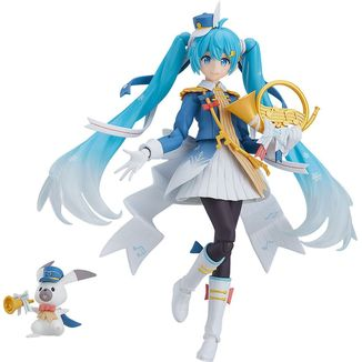 Figma EX 060 Snow Miku Snow Parade Character Vocal Series 01 Vocaloid