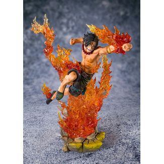 Portgas D Ace Commander of the 2nd Division Figuarts Zero One Piece