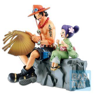 Ace & Otama Emorial Vignette Figure One Piece Wano Kuni Second Act Ichibansho