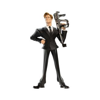 Agent H Figure Men In Black International Mini Epics