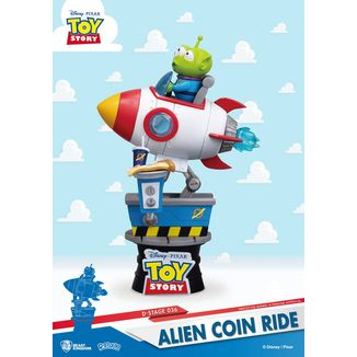 Figura Alien Coin Ride Toy Story D Stage