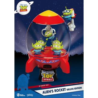Aliens Rocket Toy Story Deluxe Edition D-Stage Figure Disney