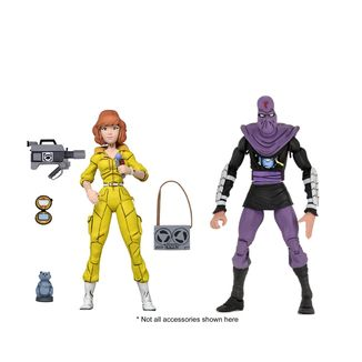 April O'Neil & Foot Soldier Figure Teenage Mutant Ninja Turtles Set