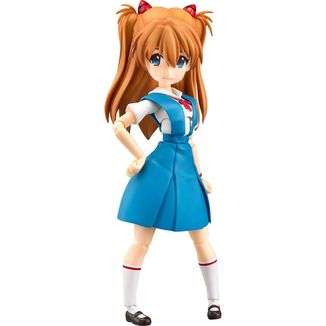 Asuka Shikinami Langley School Uniform Figure Rebuild of Evangelion Parfom R